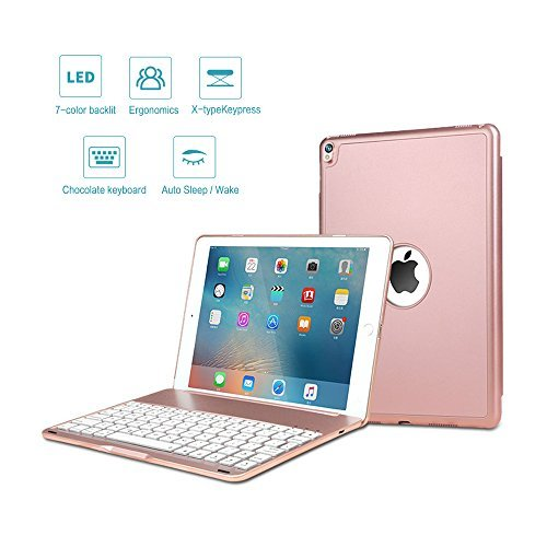 ONHI Wireless Keyboard Case for iPad Air 2019 3rd Gen/iPad Pro 10.5
