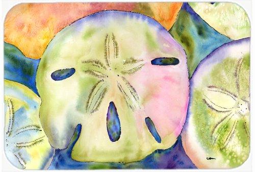 Carolines-Treasures-Sand-Dollar-Glass-Cutting-Board-Large-Multicolor