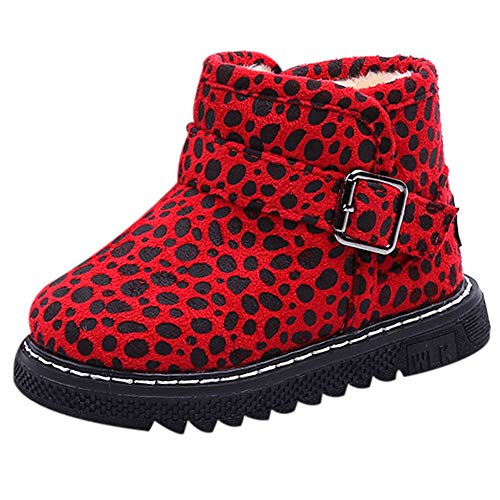 Mandy Sneakers,Kids Baby Boys Girls Leopard Striped Letter Sport Boots Shoes ()