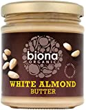 Biona Organic White Almond Butter 170 g (Pack of 2)