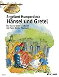 HANSEL UND GRETEL EASY PIANO GERMAN GET TO KNOW CLASSICAL MSTRPCS
