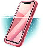 iPhone X Case, i-Blason [Aegis] Waterproof Full-body Rugged Case with Built-in Screen Protector for Apple iPhone X 2017/iPhone10 Release (Frost/Pink)