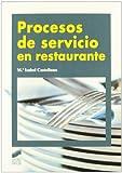 img - for Procesos de servicio en restaurante book / textbook / text book