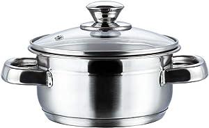 Vinod Cookware Breman Sauce Pot Silver 1.5 Litres