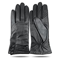 iGT CLASS Women's Touch Screen Winter Texting Leather Gloves