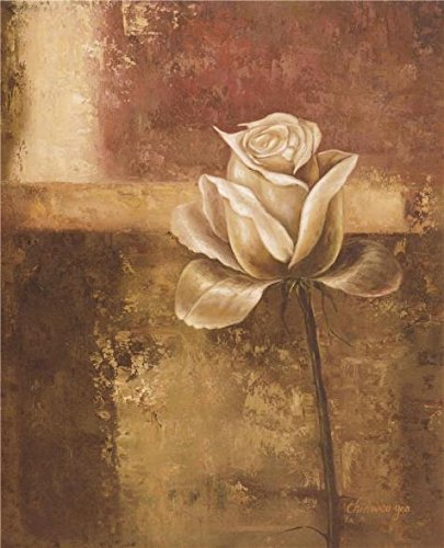 Oil Painting 'Rose Of Brown Tone', 18 x 22 inch / 46 x 56 cm , on High Definition HD canvas prints is for Gifts And Basement, Dining Room And Home Theater Decoration, where to buy (Where To Buy Wicker)