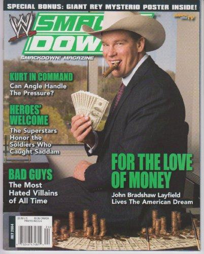 WWE Smackdown Magazine July 2004 ()