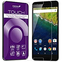 Fosmon Tempered Glass for Nexus 6P [1 pack] TOUCH 0.26mm [ULTRA THIN | Shatter Proof | Oleophobic Coating] HD Clear Glass Screen Protector for Google Nexus 6P / Huawei Nexus 6P