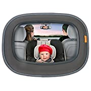 BRICA Baby In-Sight Auto Mirror for in Car Safety, Pack of 2