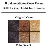 Il Salone Milano Permanent Hair Color Cream - 10.1