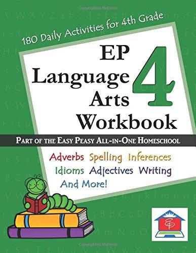 Read Online EP Language Arts 4 Workbook pdf epub