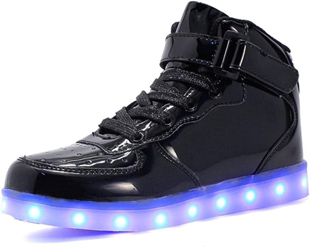 KeboBan Charger Glowing Sneakers Led Children Lighting Shoes Boys Girls Illuminated Sneaker