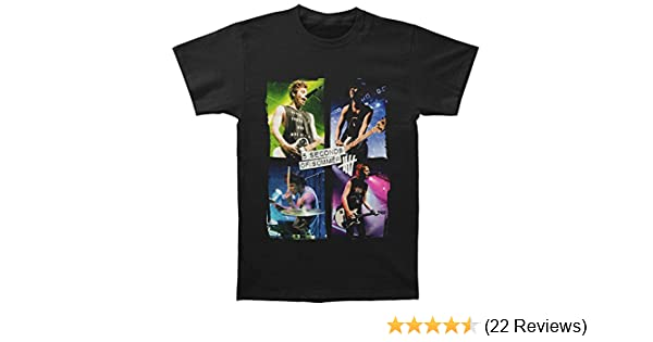 8fb1219087ae Amazon.com  5 Seconds of Summer Shirt Live Color 5SOS Shirt  Clothing