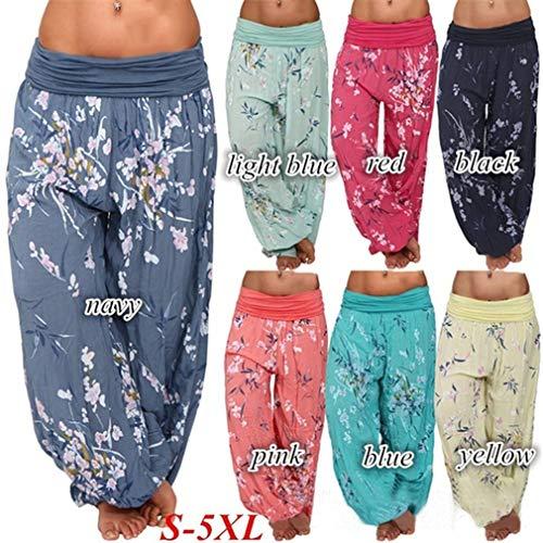 Donna Casuali Yoga Jogging Stampa Plus Sportivi 7 Larghi Harem Eleganti Pantaloni Hop Juqilu Pantaloni Hip S Size 5XL Baggy Aladin Boyfriend Pantaloni a7qpxtnW