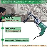 Electric Rug Tufting Gun Machine, Electric Hand