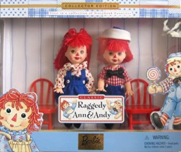 barbie raggedy ann andy tommy kelly storybook collectibles - Raggedy Ann And Andy