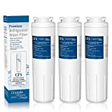 UKF8001 Refrigerator Water Filter Replacement for Whirlpool 4396395, Filter 4, Maytag UKF8001, EDR4RXD1, Jenn-Air, PUR, UKF8001AXX, UKF8001P, Puriclean II, 469006, by Crystala Filters