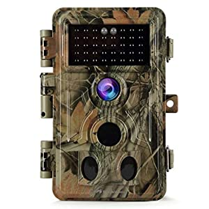 Best Epic Trends 51yPcljHVjL._SS300_ BlazeVideo Game Trail Deer Camera Night Vision 24MP Photo 1296P H.264 MP4 Video Motion Activated Waterproof No Glow…