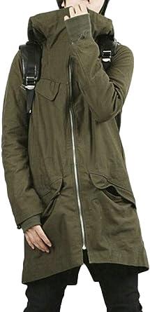 Joe Wenko Mens Hoodie Down Coat Outwear Outdoor Zip Thick Jackets