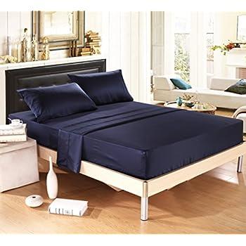 Navy Bed Sheets