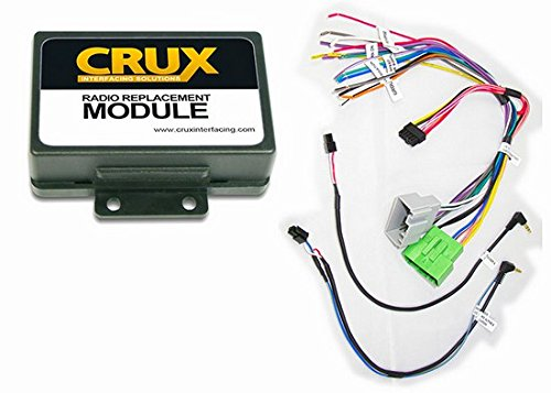 Crux Volvo Radio Replacement Module (SWRVL-54) Install an Aftermarket Radio in select Volvo Vehicles and Retain Steering Wheel Controls