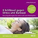 8 Schlüssel gegen Stress und Burnout: Focusing-Übungen für mehr Kraft am Arbeitsplatz Hörbuch von Ulrike Pilz-Kusch Gesprochen von: Ulrike Pilz-Kusch