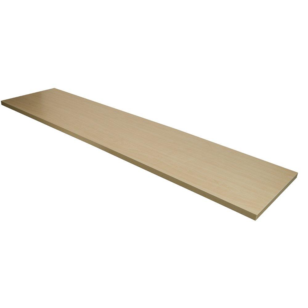 Econoco Melamine Shelf, 12'' x 48'' (Pack of 4)