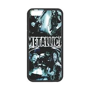IPhone 6S Plus Case Metallica,famous Band, Metallica [Black]
