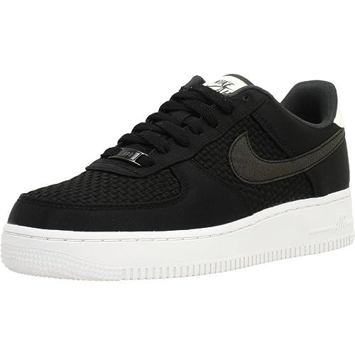 buy popular 95f46 65629 Nike Scarpe Donna Air Force 1 07 Se - Nero, 38