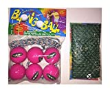 3 Pink Ladder Balls Bolo Toss Hillbilly Golf Free CASE Skallywags Depot