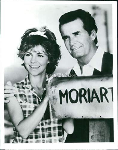 Vintage Photos 1988 Press Photo Actress Sally Field James Garner CBS Murphys Romance CBS 7X9