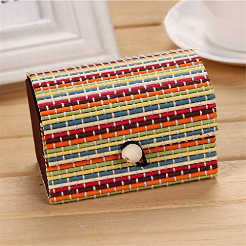Bamboo Wooden Jewelry Storage Box with Large Capacity | Divided Boho Storage Case Storage Box Organizer | Tool Box for Keys Papers Great Jewelry Gift Box for Home Decor by Anewoneson