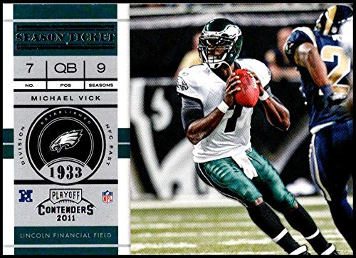 - 2011 Playoff Contenders Season Tickets #60 Michael Vick NM-MT Philadelphia Eagles Official NFL Football Card