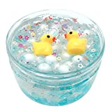 callm 60/100ML Duck Star Puff Crystal Mud Mixing Cloud Slime Putty Scented Stress Kids Clay Toy