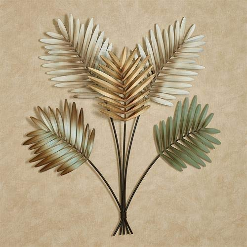 (Touch of Class Palm Leaf Arrangement Wall Art Multi Earth)