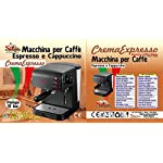 Sirge-CREMAEXPRESSO-Macchina-per-Caff-Espresso-e-Cappuccino-Manuale-Pompa-Italiana-15-bar
