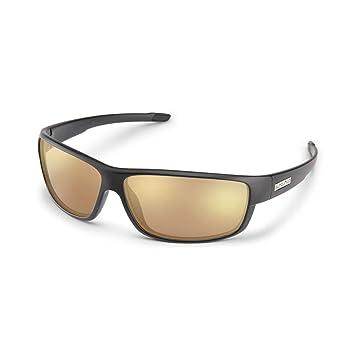 d1f9487557 Suncloud Voucher Polarized Sunglasses in Matte Black with Sienna Mirror  Lenses