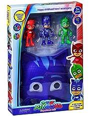 PJ Masks 4 In 1 Action Figures Play Set - Blue Mask
