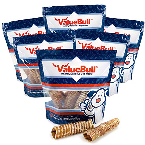 ValueBull USA Trachea Tubes Dog Chews, 7 Inch, 6 Pound by  ValueBull   (Image #1)