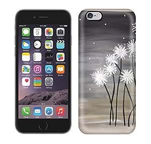 Best Power(TM) Hard Back Cover Skin Cases for iphone 6 plus, Unique Design of Dandelions. DIY Plastic Case, SnapOn, Protector