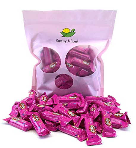 Sunny Island Bulk - Kit Kat Miniatures Pink Wrap, Crisp Wafers in Milk Chocolate Candy, 2 Pounds ()