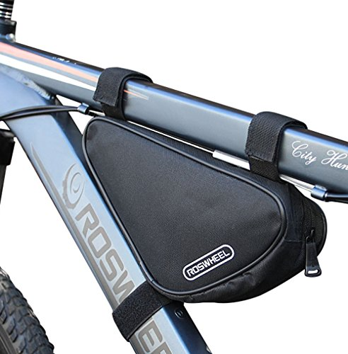 CestMall Waterproof Bike Triangle Bag Bicycle Frame Bag Top Tube Pack for Road Mountain Cycling 1.5L