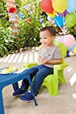 Little Tikes Garden Table and Chairs Set, Blue/Green