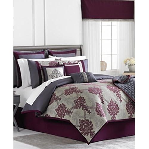 Image of Home and Kitchen Alyssa 22 Piece Queen Comforter Set Bedding