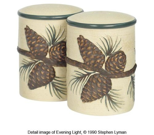 Pinecone Lodge Set of Salt & Pepper Shakers by Expressions