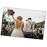tietheknotprint uk Wedding Thank You Cards & Envelopes (Choice of 12 designs (Personalised - Click customize for pricing)