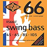 Rotosound RS66LF Swing Bass 66 Stainless Steel Bass Guitar Strings (45-105)