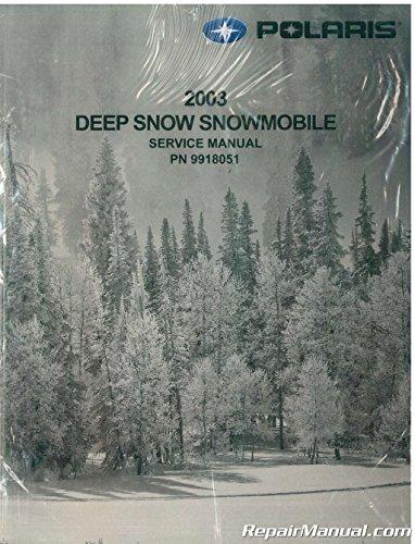 9918051 2003 Polaris 600/700/800 RMK and Trail RMK Snowmobile Service Manual