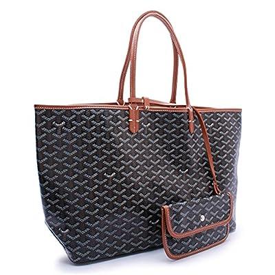 Find-me High Grade Fashion Design Shopping PU Shoulder Handbags for Female(NewBlack+)
