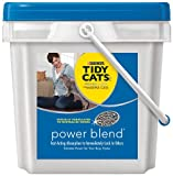 GOLDEN CAT COMPANY 702082 Tidy Cats Crystal Blend Scoop Pail, 27-Pound